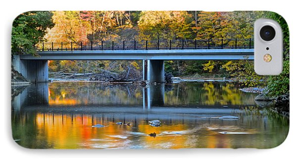 Bridges Of Madison County Phone Case by Frozen in Time Fine Art Photography