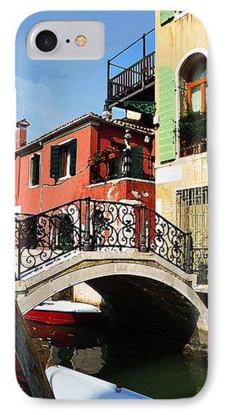 Bridges Of Venice IPhone Case by Irina Sztukowski