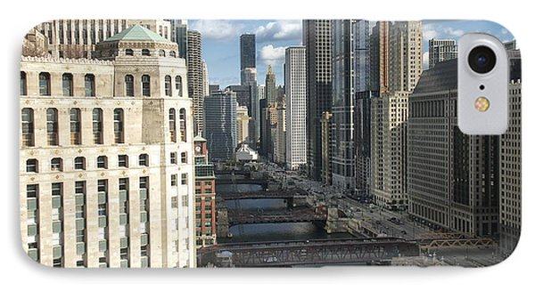 Bridges Over The East Branch Of The Chicago River IPhone Case by Sheryl Thomas