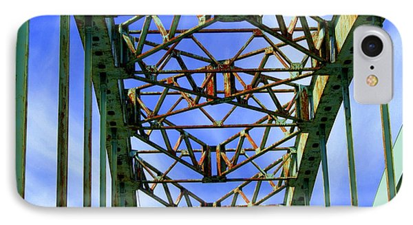 IPhone Case featuring the photograph Bridgework by Lois Lepisto