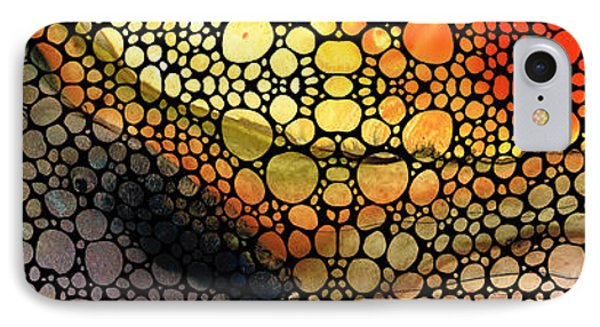 Bridging The Gap - Stone Rock'd Art Print IPhone Case by Sharon Cummings