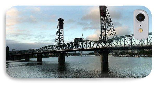 Bridging The River Phone Case by Susan Garren