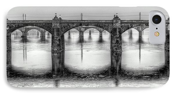 IPhone Case featuring the photograph Bridging The Susquehanna  by JC Findley