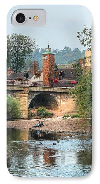 Bridgnorth Low Town  IPhone Case