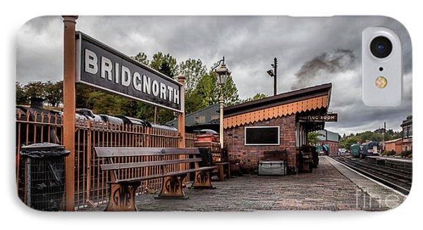 Bridgnorth Railway Station IPhone Case by Adrian Evans