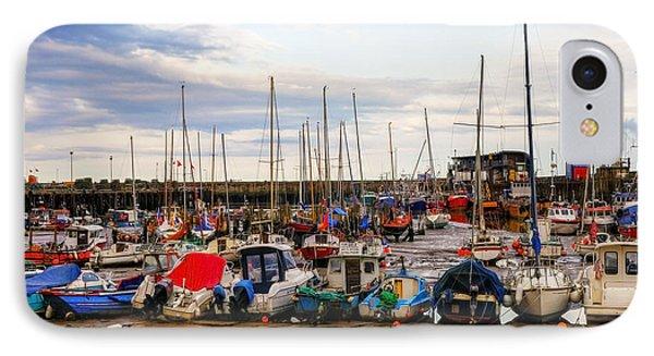 Bridlington Harbour Phone Case by Svetlana Sewell
