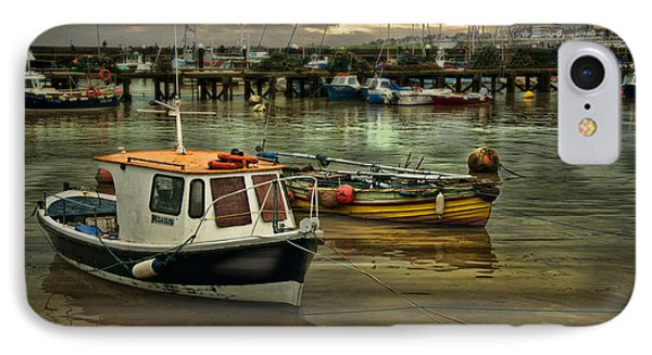 IPhone Case featuring the photograph Bridlington Reflections by Brian Tarr