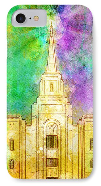 The Heavens Were Opened IPhone Case by Greg Collins