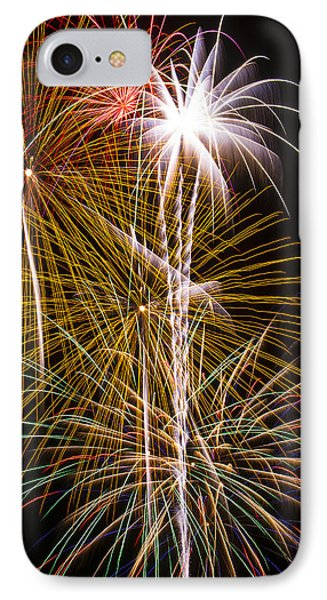 Bright Bursts Of Fireworks IPhone Case
