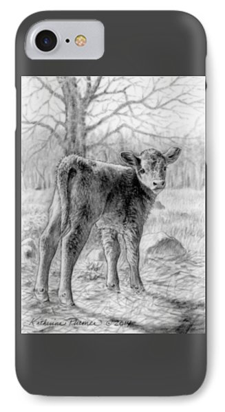 Bright Eyed And Bushy Tailed IPhone Case by Katherine Plumer