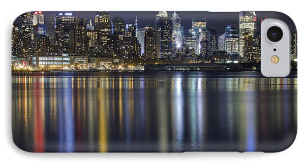 Bright Lights Big City IPhone Case by Marco Crupi