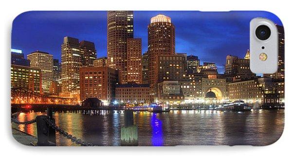 Bright Lights Boston Phone Case by Joann Vitali