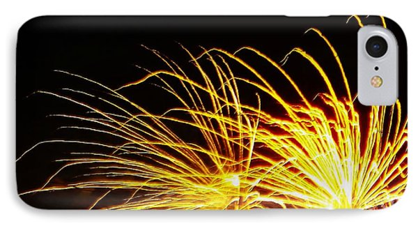 IPhone Case featuring the photograph Bright Lights For The New Year by Brigitte Emme