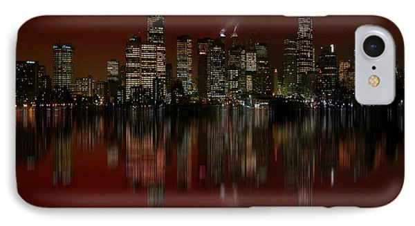 Bright Lights IPhone Case by Stuart Turnbull