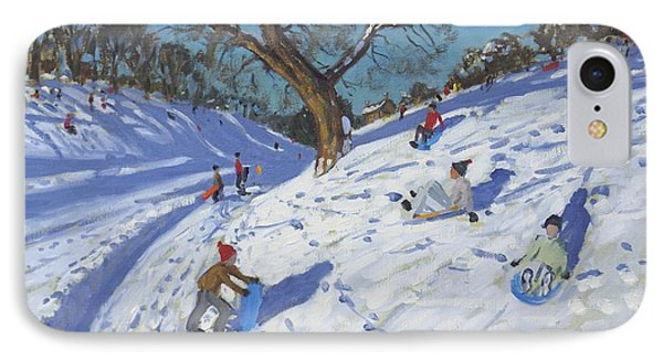 Bright Morning   Chatsworth Phone Case by Andrew Macara