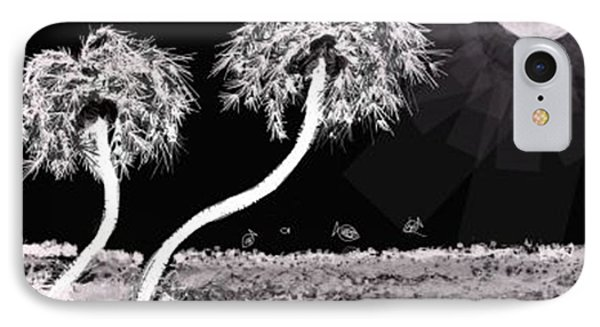 Bright Night In The Tropics IPhone Case by Renee Michelle Wenker