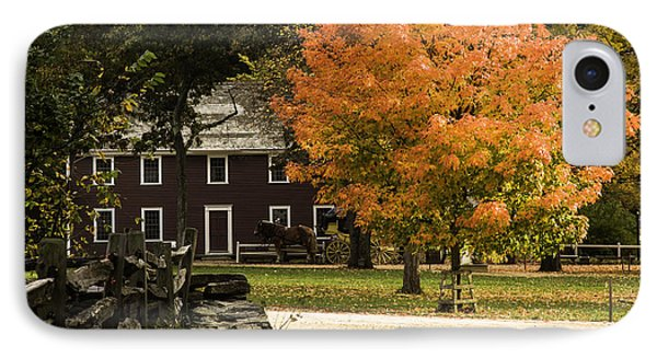 IPhone Case featuring the photograph Bright Orange Autumn by Jeff Folger