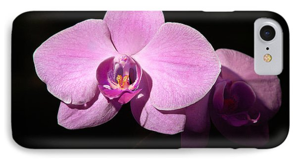 Bright Orchid IPhone Case by Penny Lisowski