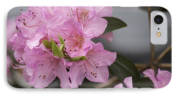 Bright Pink Azalea Phone Case by Arlene Carmel