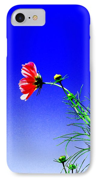 Bright Pink Bloom Phone Case by Tina M Wenger