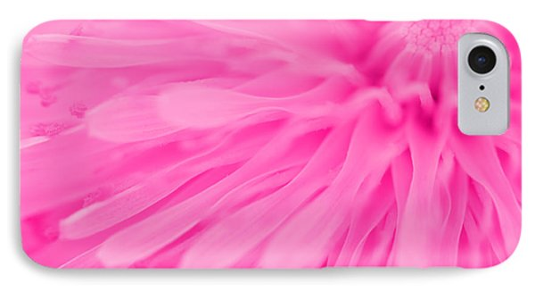 Bright Pink Dandelion Close Up Phone Case by Natalie Kinnear