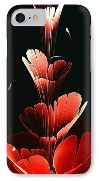 Bright Red IPhone Case by Anastasiya Malakhova