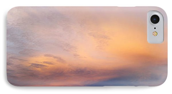 Bright Sunset Sky Phone Case by Les Cunliffe
