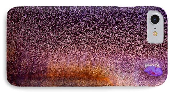 Bright Violet Abstract Art Serene Clouds By Kredart Phone Case by Serg Wiaderny