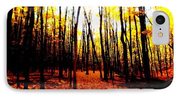 Bright Woods IPhone Case