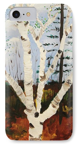 Brightest Birch Phone Case by Suzanne  Marie Leclair