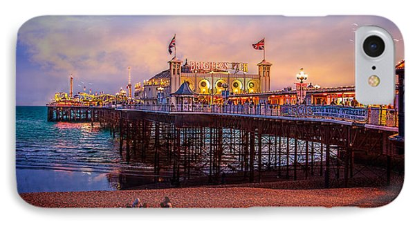 IPhone Case featuring the photograph Brighton's Palace Pier At Dusk by Chris Lord