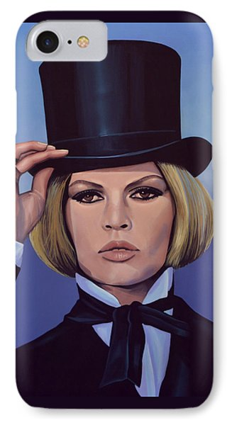 Brigitte Bardot 2 IPhone Case by Paul Meijering