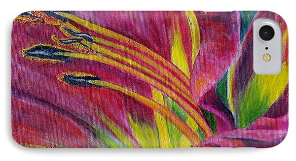 IPhone Case featuring the painting Brilliance Within by Marilyn  McNish