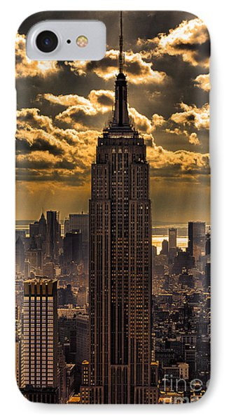Brilliant But Hazy Manhattan Day IPhone Case