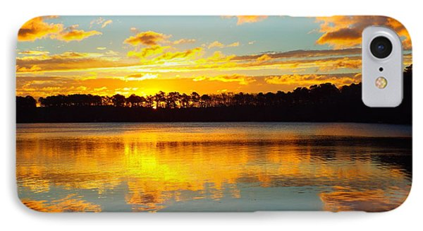IPhone Case featuring the photograph Brilliant Sunrise by Dianne Cowen