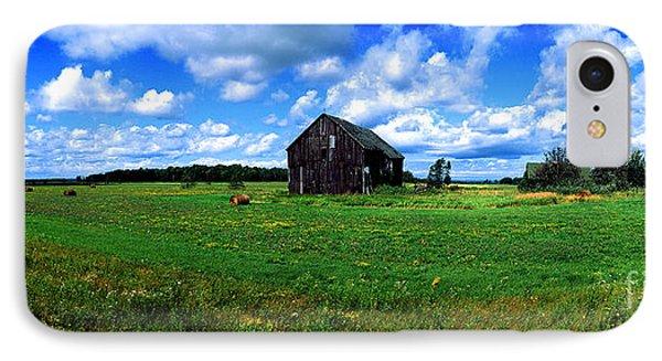 Brimley Farm Near  Sault Ste Marie Michigan  IPhone Case
