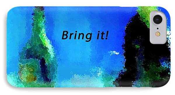 Bring It IPhone Case by Lisa Kaiser