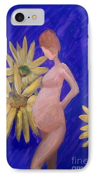 IPhone Case featuring the painting Bringer Of Life by Marisela Mungia