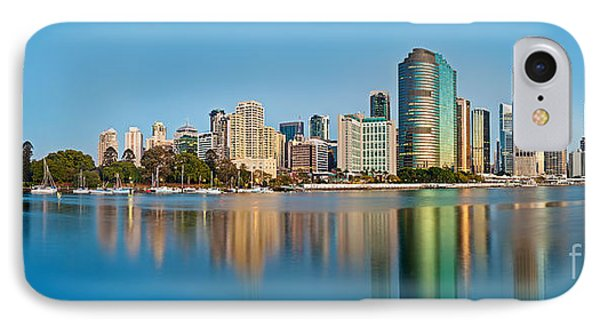 Brisbane City Reflections IPhone Case