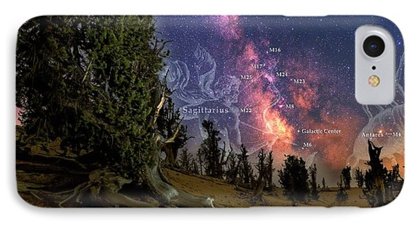 Bristlecone Forest And The Milky Way IPhone Case by Babak Tafreshi