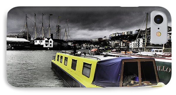 Bristol Harbor IPhone Case by Michael Canning