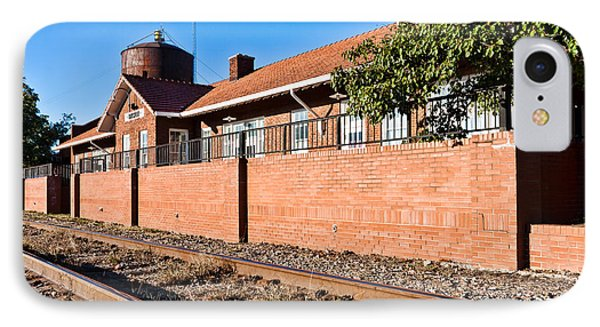 Bristow Oklahoma Train Depot IPhone Case