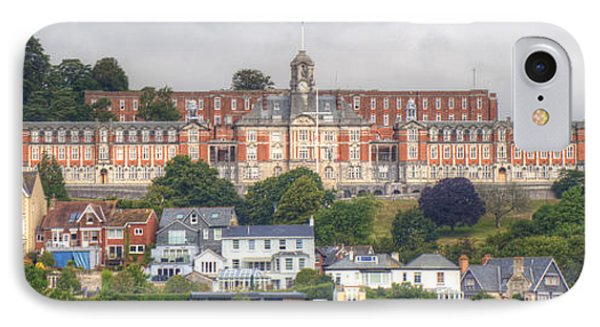 Britannia Royal Naval College IPhone Case by Chris Day