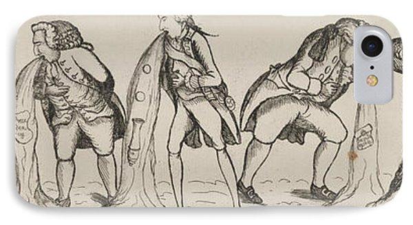 British Cartoon, 1789 IPhone Case by Granger