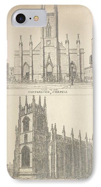 British Gothic Cathedrals IPhone Case by British Library