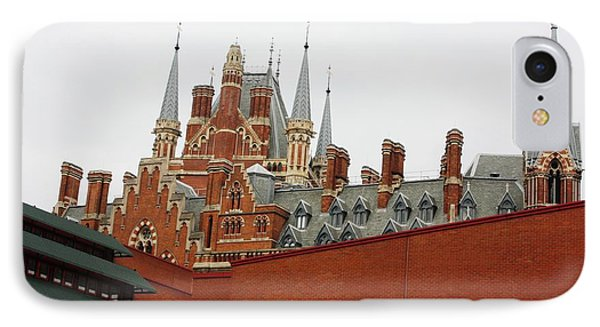 British Library And St. Pancras Phone Case by Pat Purdy