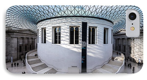 IPhone Case featuring the photograph British Museum Color by Matt Malloy