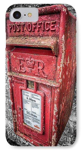 British Post Box Phone Case by Adrian Evans