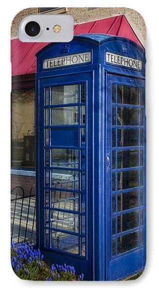 British Telephone Booth IPhone Case