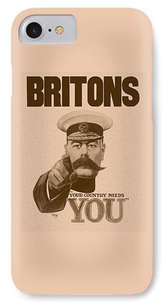 Britons Your Country Needs You  Phone Case by War Is Hell Store